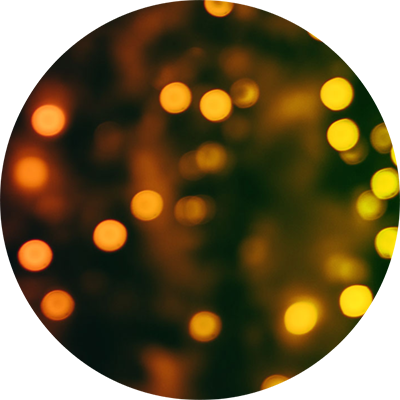 circle lights